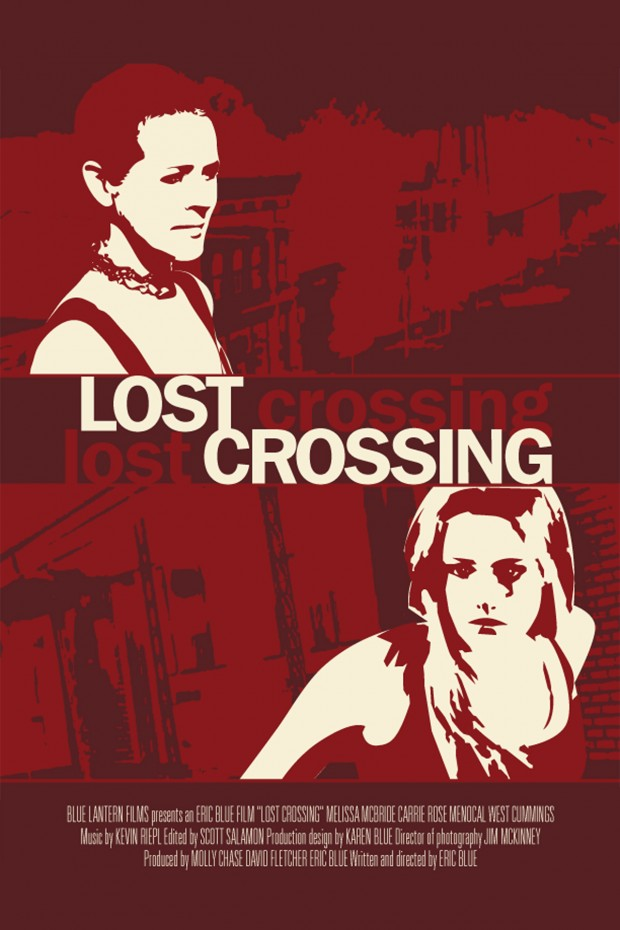 Lost Crossing DVD Poster